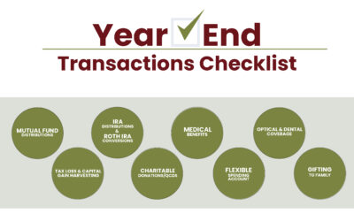 Make a List, Check it Twice: Year-End Transactions